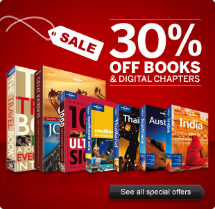 Lonely Planet 30% Sale
