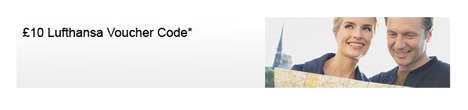 Lufthansa: £10 voucher code for flights from GB
