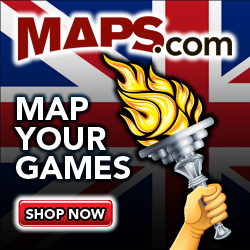 Maps.com - Maps of London Olympic sale