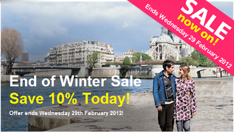 End Of Winter Sale With Paris Pass