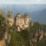 Australia's Three Sisters at the Blue Mountain Range